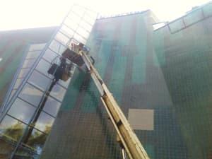 Чистка стеклянных поверхностей